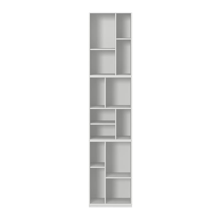 Loom Bücherregal mit Sockel von Montana in new white