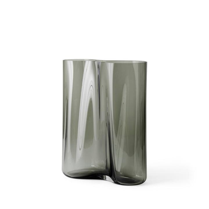 Aer Vase H 33 cm, smoke von Menu