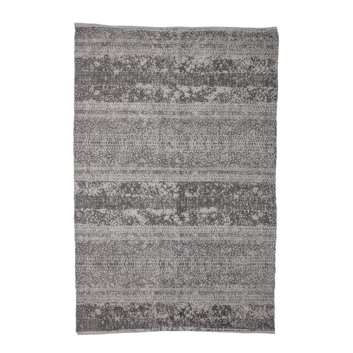 Teppich mit Muster, 180 x 120 cm, grau von Bloomingville