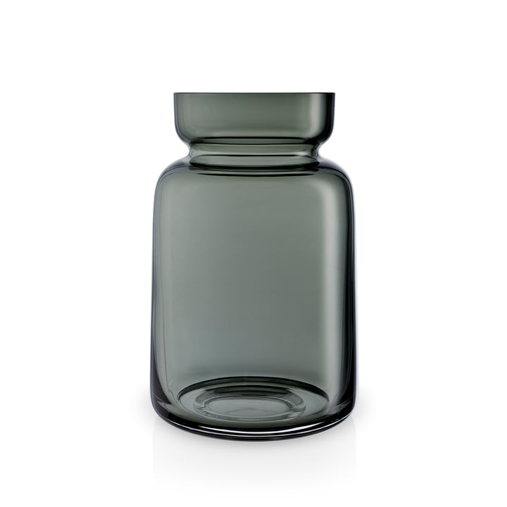 Silhouette Glasvase H 18,5 cm von Eva Solo in rauchgrau