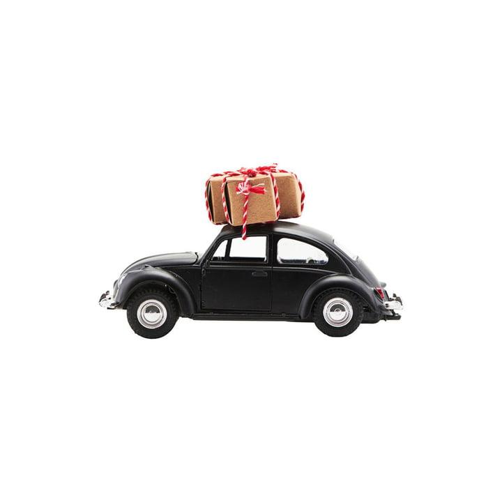Xmas Cars Deko-Autos 8,5 cm von House Doctor in schwarz