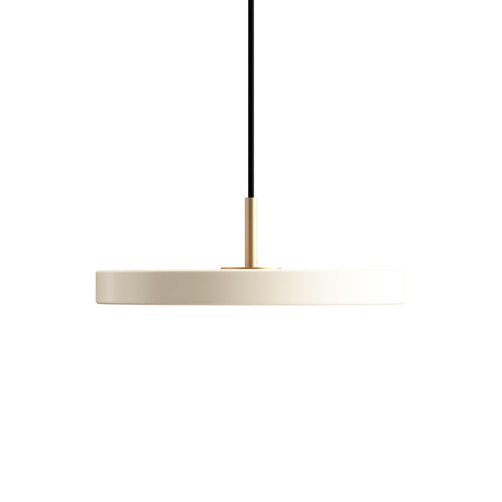 Asteria Mini LED-Pendelleuchte von Umage in pearl
