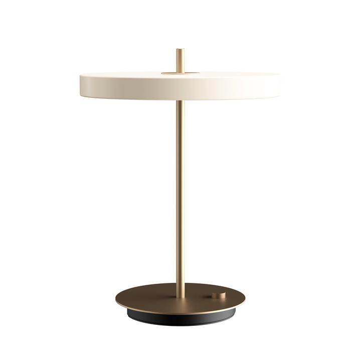 Asteria LED-Tischleuchte Ø 31 x H 41,5 cm von Umage in pearl