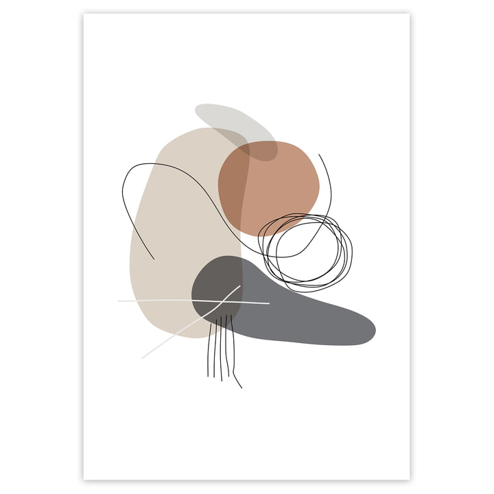 artvoll - Shapes 4 Stones Poster