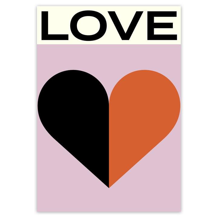 artvoll - Love Poster, 70 x 100 cm