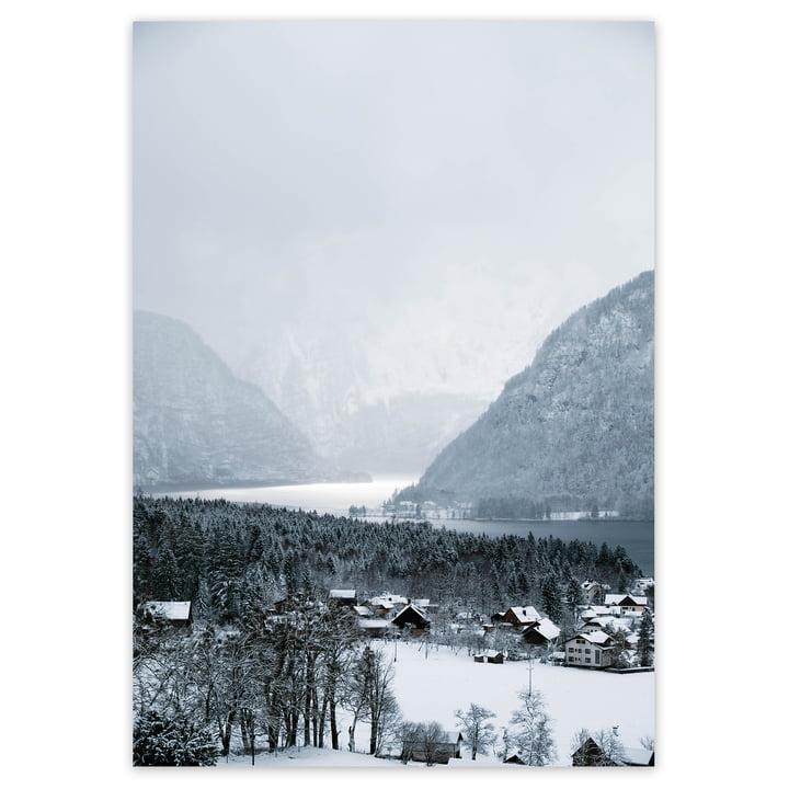 artvoll - Winter Village Poster