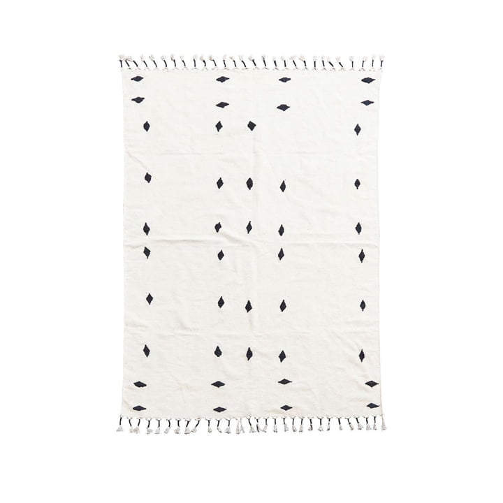 Backside Teppich 200 x 140 cm von House Doctor in off-white