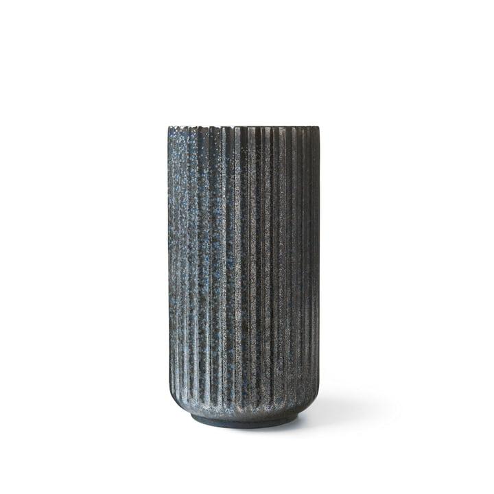 Radiance Vase H 15 cm von Lyngby Porcelæn in blau