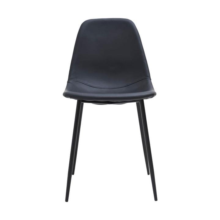 Forms Stuhl, schwarz von House Doctor