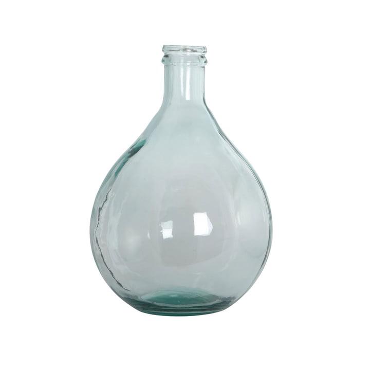 Flasche Vase H 43 cm in grün von House Doctor