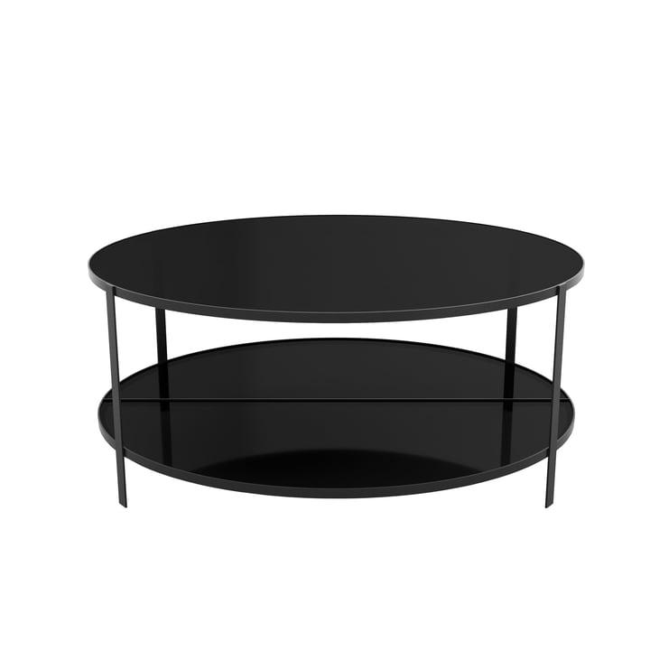 Fumi Couchtisch Ø 90 x H 37 cm von AYTM in schwarz