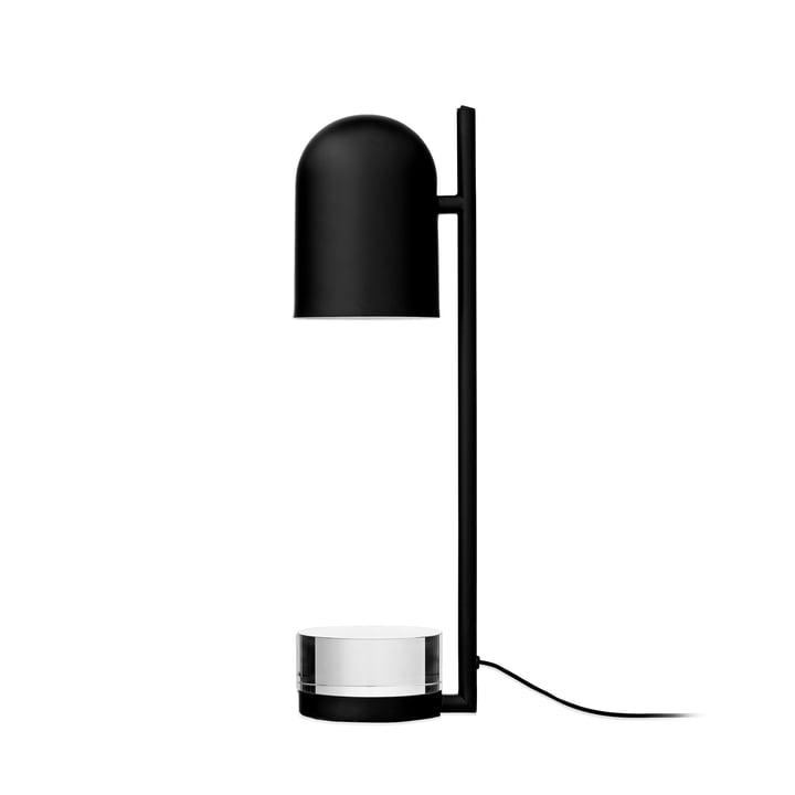 Luceo Tischleuchte, Ø 12 x H 50 cm, schwarz / klar von AYTM
