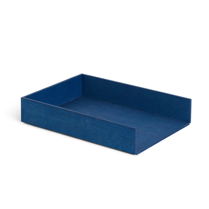 Briefablage, Esche blau gebeizt von ferm Living
