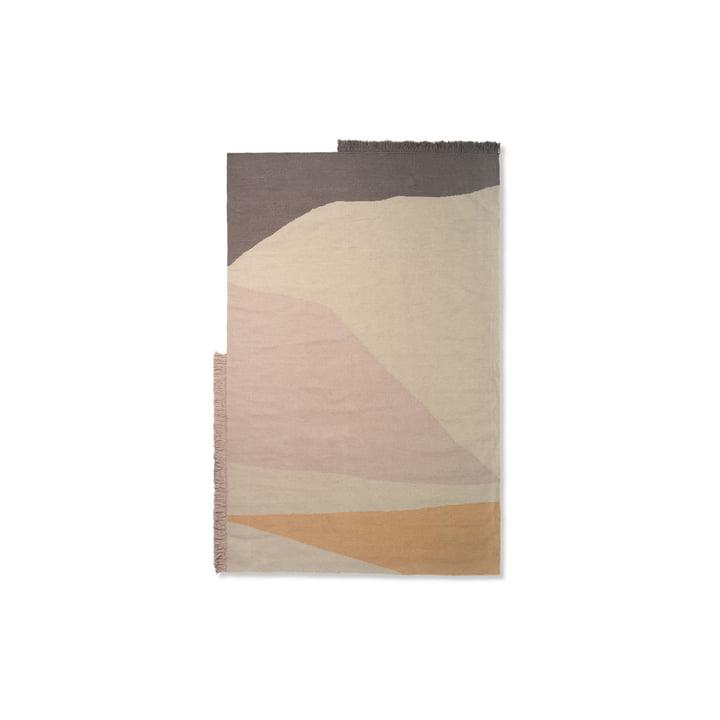 Kelim Mat Earth 50 x 70 cm von ferm Living in multi