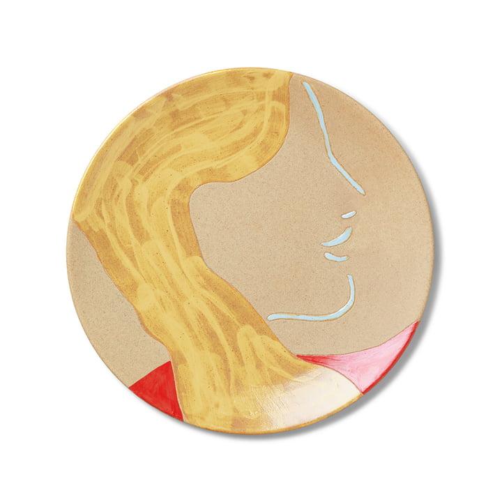 Keramik Teller Mira von ferm Living