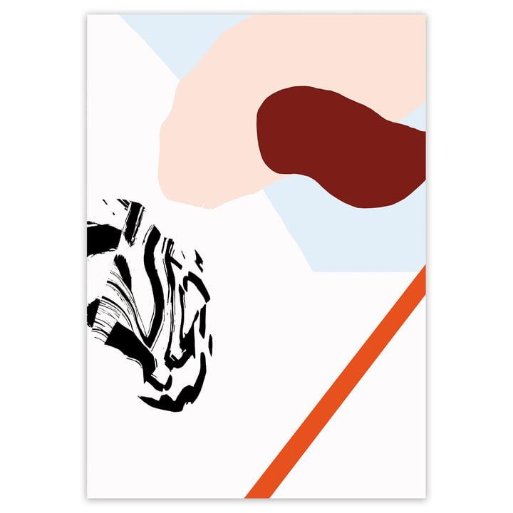 artvoll - Play No. 1 Poster, 70 x 100 cm