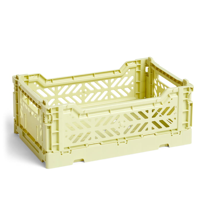 Colour Crate Korb S, 26,5 x 17 cm von Hay in lime
