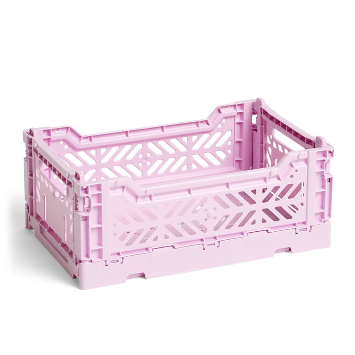 Hay - Colour Crate Korb S, 26,5 x 17 cm, lavendel