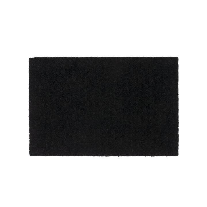 Fußmatte 40 x 60 cm von tica copenhagen in Unicolor schwarz