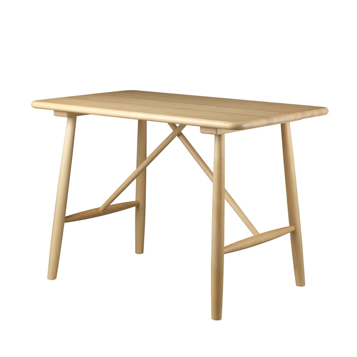 P10 Kindertisch von FDB Møbler in Buche klar lackiert