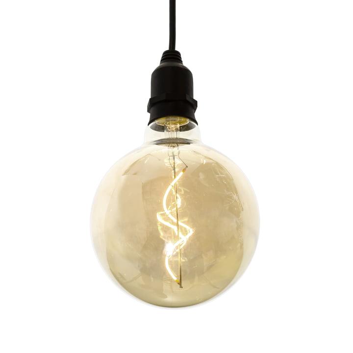 LED Pendelleuchte ohne Stecker für drinnen und draußen