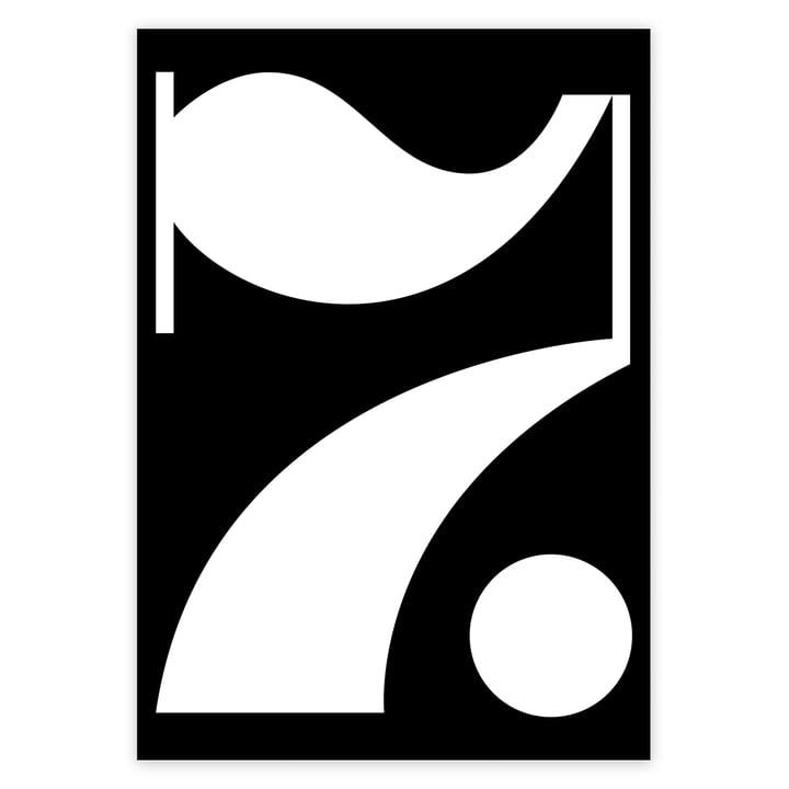 artvoll - Lucky Number 7 Rahmen