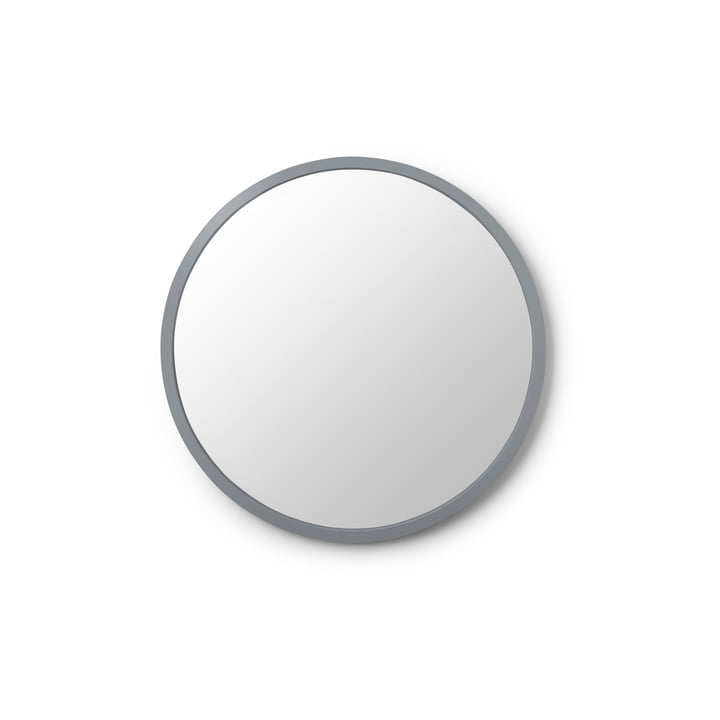 Hub Spiegel Ø 45 cm von Umbra in grau