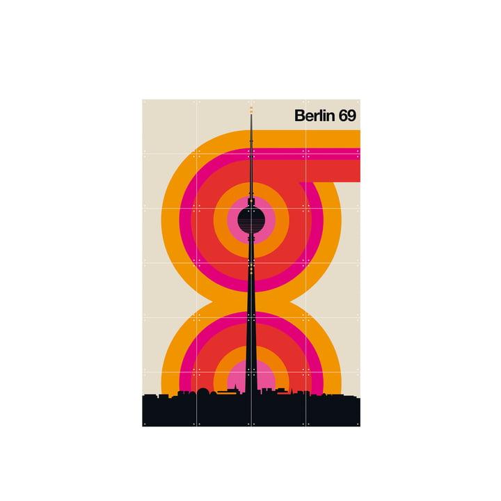 Berlin 69 (Bo Lundberg) 80 x 120 cm von IXXI