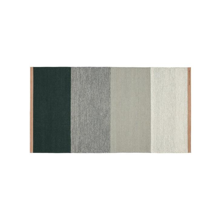 Fields Teppich 70 x 130 cm von Design House Stockholm in grün / grau