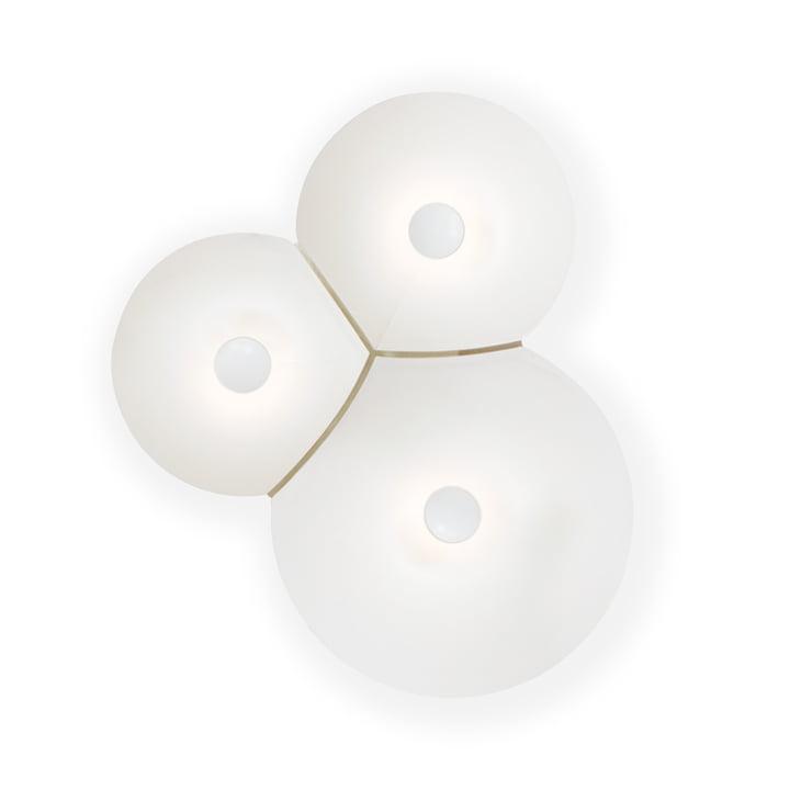Bulbullia LED Wandleuchte von Luceplan in weiß small