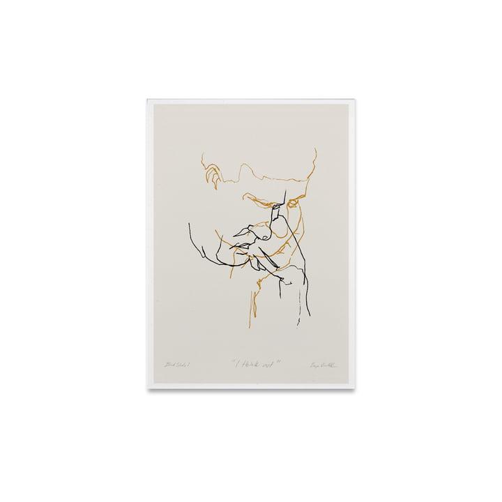 I Think Not 01 30 x 40 cm von Paper Collective