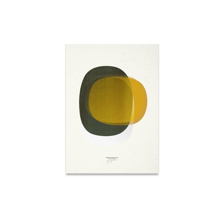 Sketchbook Abstracts 01 30 x 40 cm von Paper Collective