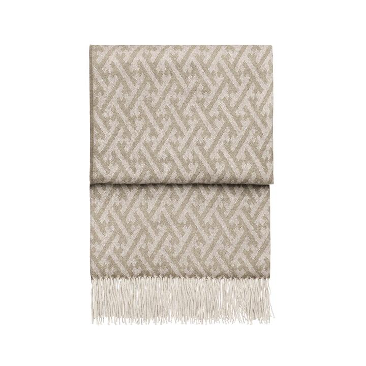 Amazing Decke, beige / weiß von Elvang