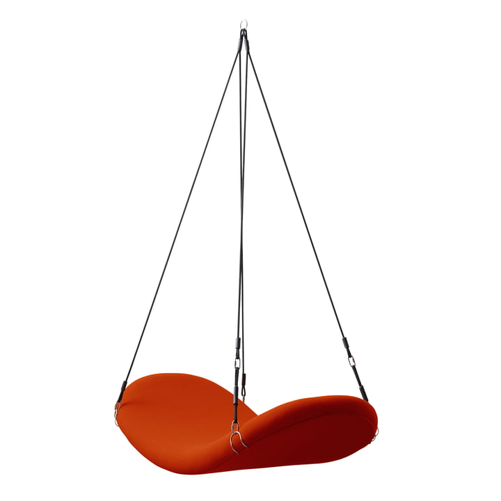 Flying Chair, rot-orange, (Hallingdal 65/600) von Verpan