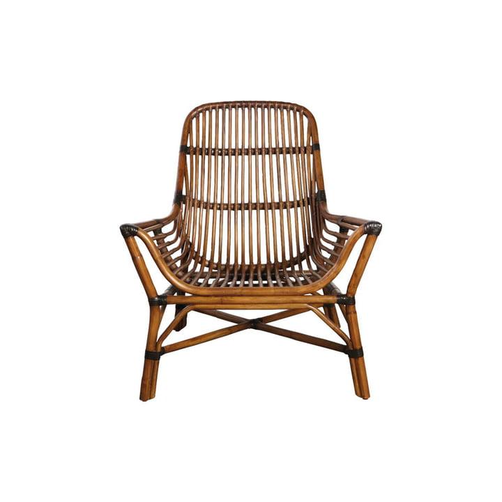 Colony Lounge Chair, braun von House Doctor