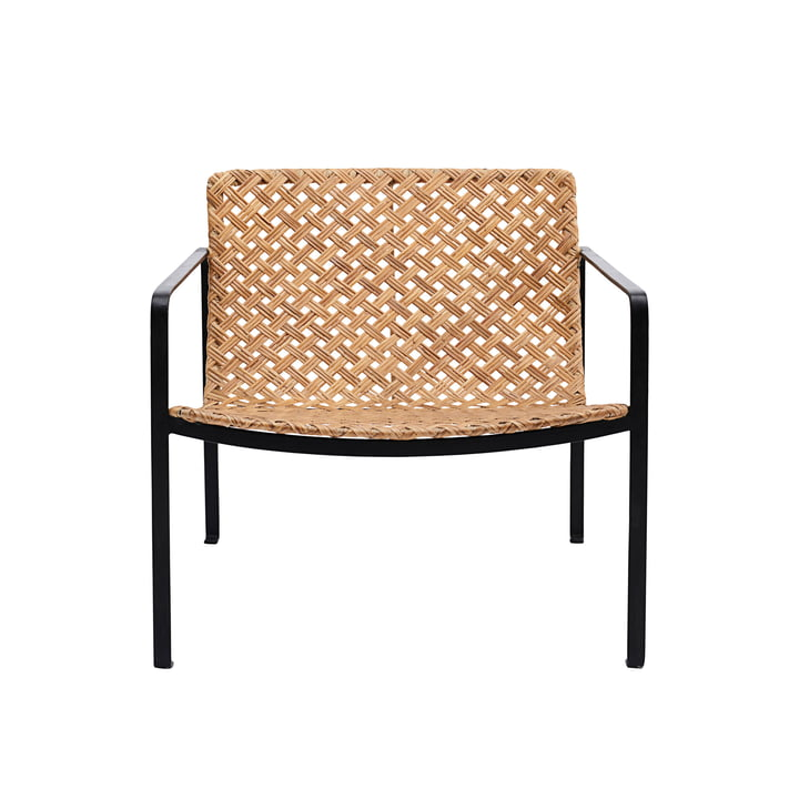 Habra Rattan Lounge Chair von House Doctor in natur