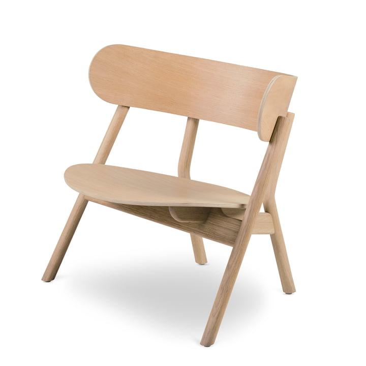 Oaki Lounge Chair, Eiche von Northern