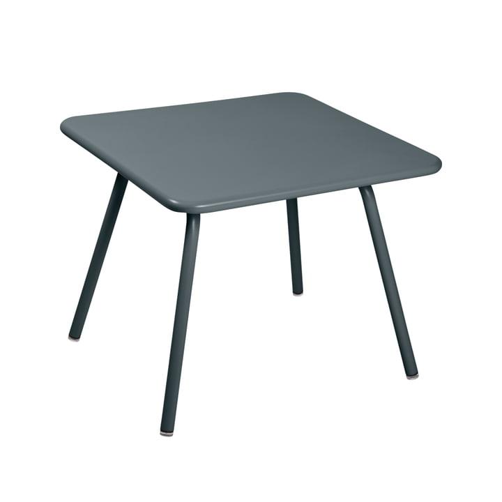 Luxembourg Kid Kindertisch, 57 x 57 cm, gewittergrau von Fermob