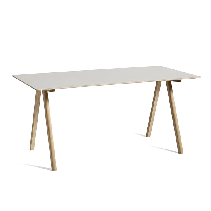 Copenhague CPH10 Tisch, 160 x 80 cm, Eiche / off-white von Hay