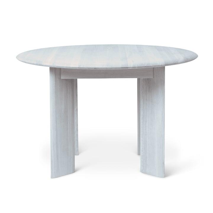 Bevel Tisch, Ø 117 x H 73 cm, Eiche eisblau geölt von ferm Living
