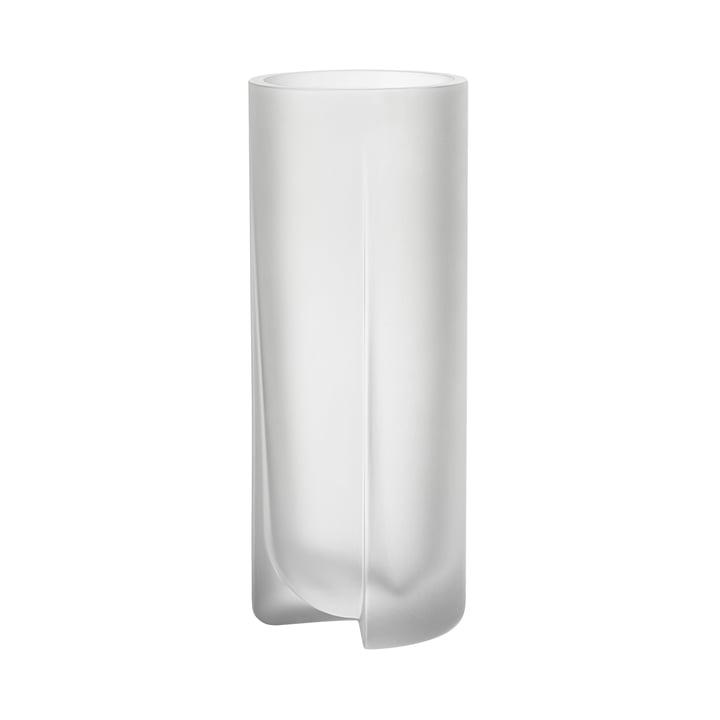 Kuru Vase 255 mm von Iittala in klar matt