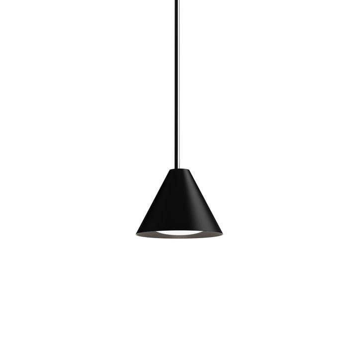 Keglen LED-Pendelleuchte Ø 175 mm von Louis Poulsen in schwarz