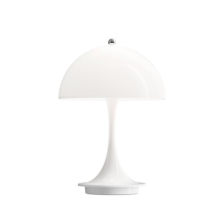 Panthella Portable Akku LED-Tischleuchte von Louis Poulsen in weiß