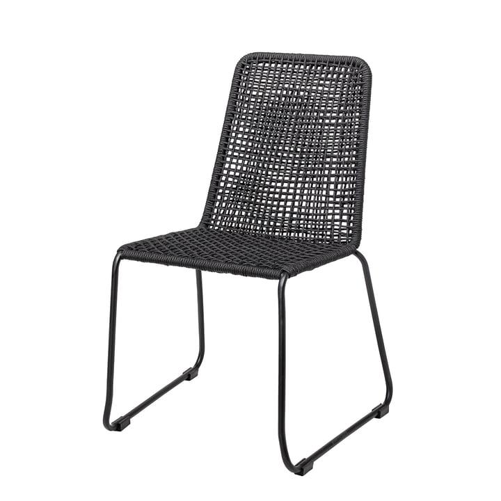Mundo Stuhl von Bloomingville in schwarz