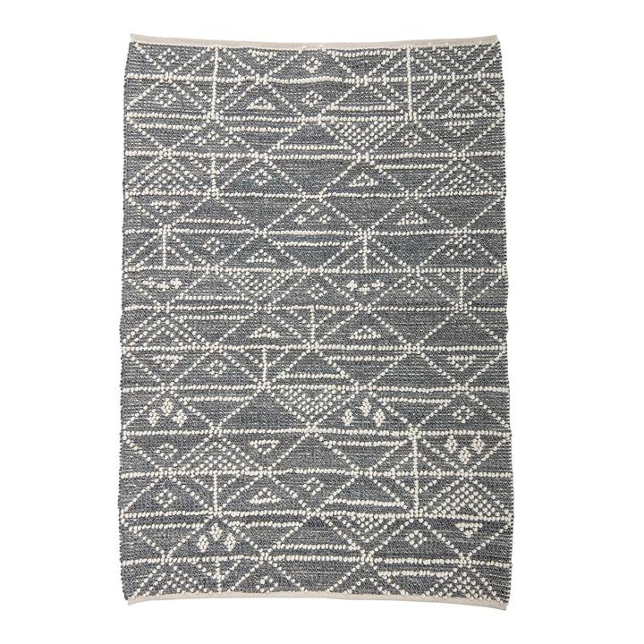 Wollteppich mit den Maßen 180 x 120 cm von Bloomingville in grau