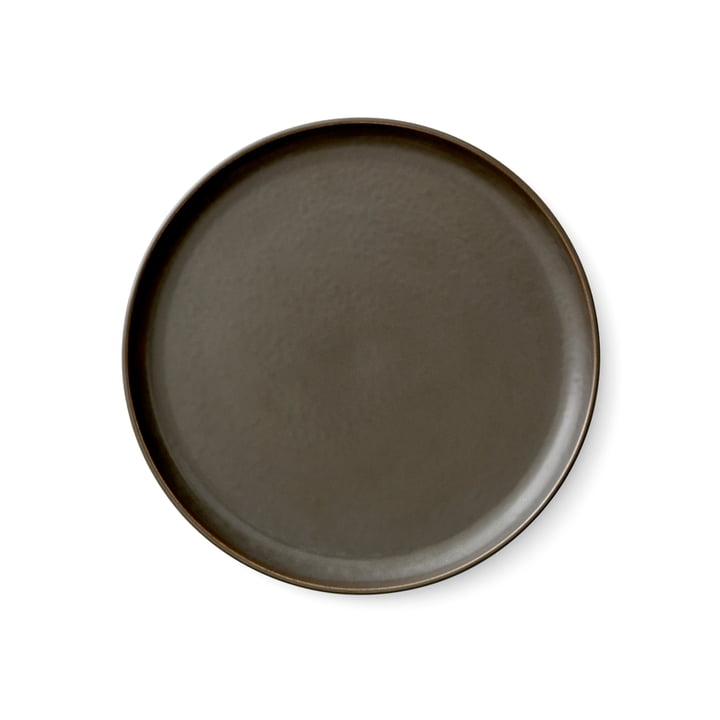 Menu - New Norm Teller Ø 23 cm, dark glazed