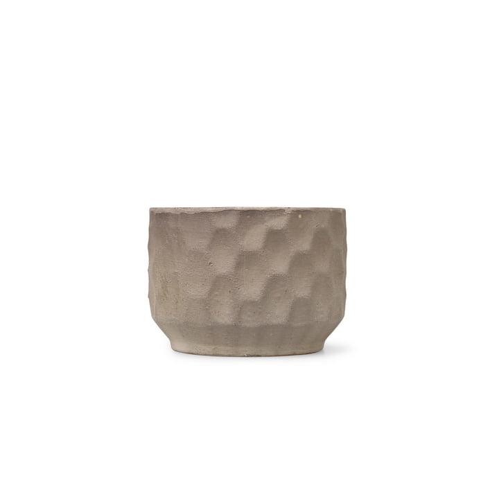 Gro Übertopf Ø 16,5 cm von Kähler Design in sand