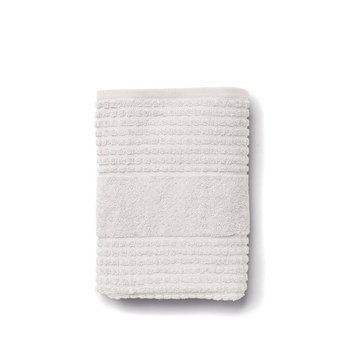 Check Handtuch von Juna in hellgrau