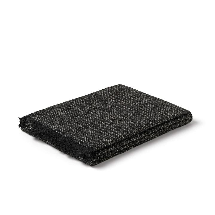 Reflection Handtuch von Juna in schwarz