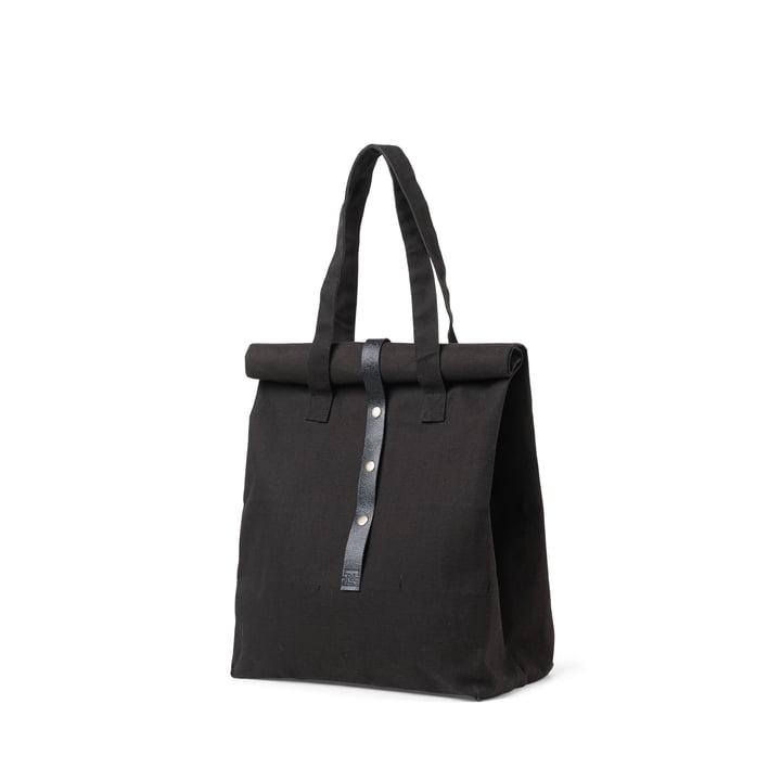 Rå Picknick Tasche H 43 cm von Juna in schwarz